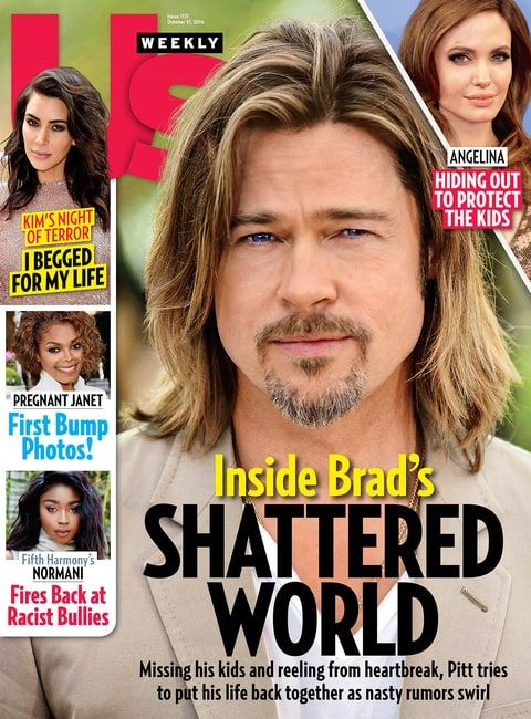 In the new issue of Us Weekly, insiders reveal how Brad Pitt and Angelina Jolie hammered out a temporary deal that lets their six kids live with Mom
