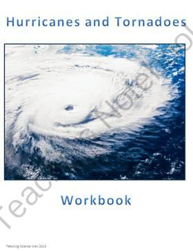 Hurricanes and Tornadoes from Teaching Science Well - K-12 Science Resources on TeachersNotebook.com (9 pages)  - A workbook designed to introduce young students to hurricanes and tornadoes.  Content Highlights: -Hurricanes -Tornadoes -Coriolis Effect -Fujita Scale -Convection Cells -Diagram of a tornado