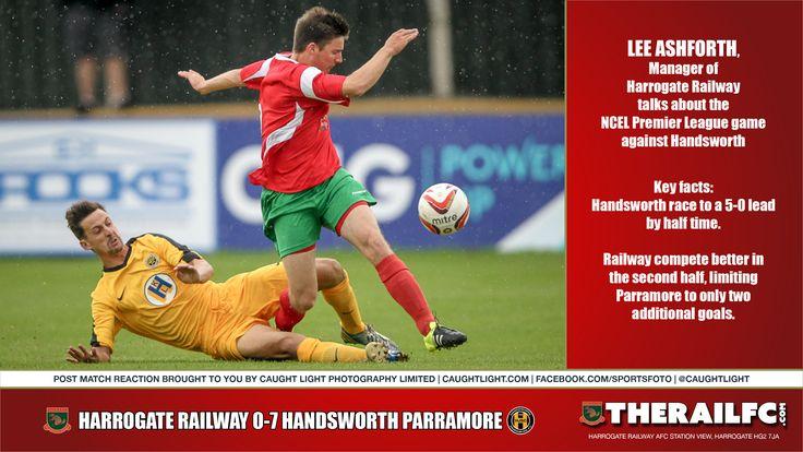 Handsworth Parramore post match reaction (audio)        @therailfc @HandsworthPFC