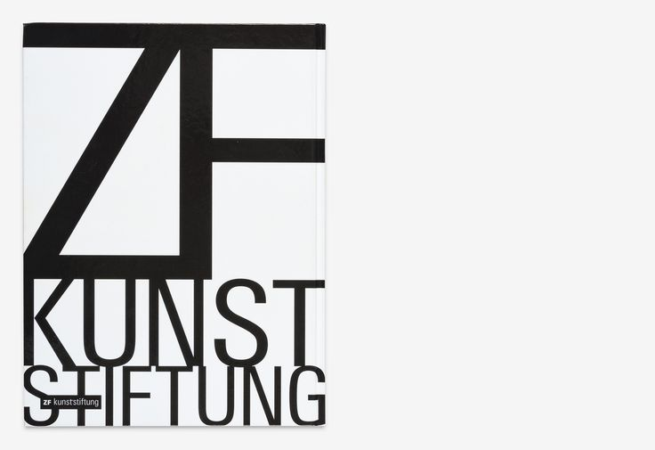 Book design for the 25th anniversary of ZF Art Foundation. The comprehensive publication documents the development of the foundation including all exhibitions from the last 25 years at the Zeppelin Museum Friedrichshafen. The motivation that led to its fo…