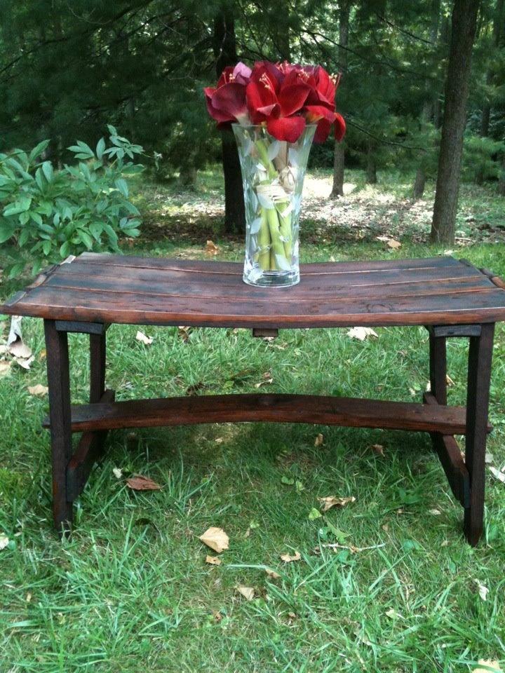 Bourbon Barrel Wood Furniture ~ Best whiskey barrel projects images on pinterest