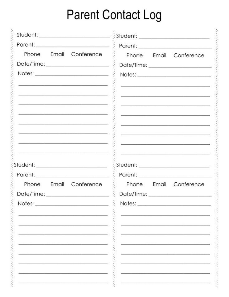 Best 25+ Parent contact log ideas on Pinterest Parent contact - phone sheet template