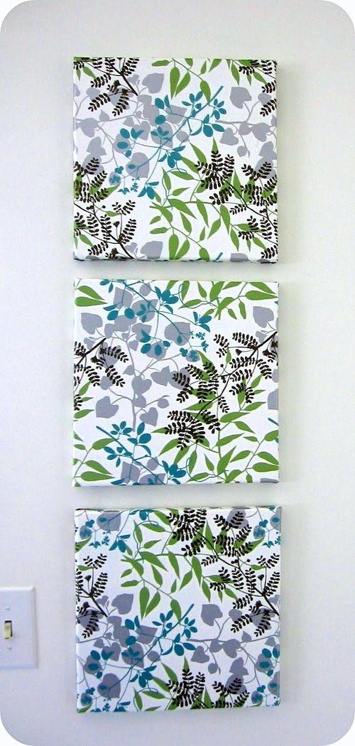Mod Podge Tissue Paper Wall Art