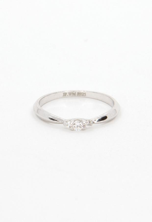Delicate ring Patterned Sterling Silver Stacking Ring 7 midi ring sterling silver ring textured silver stacking ring graduation gift