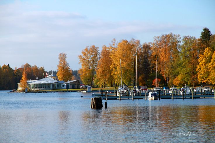 Autumn in Heinola, Finland