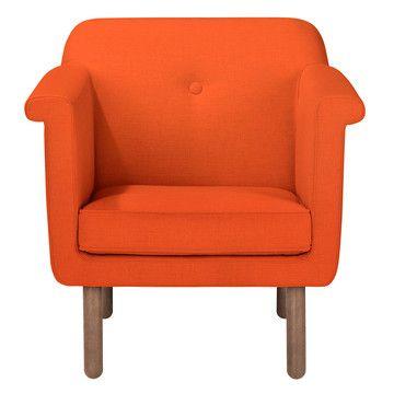 Orla Kiely: Accent Chair Orange