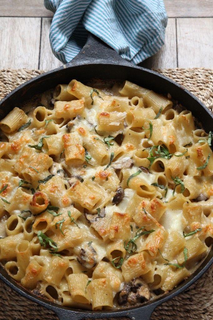Baked Rigatoni...creamy and cheesy | Yummies | Pinterest ...