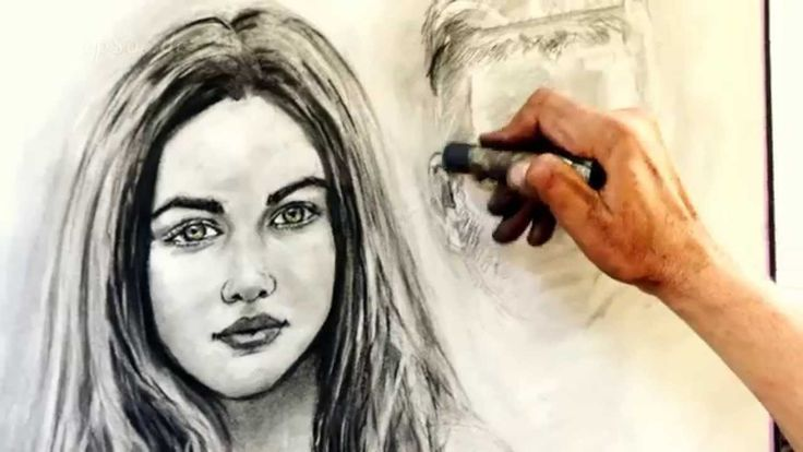 Utcai portrérajzolás