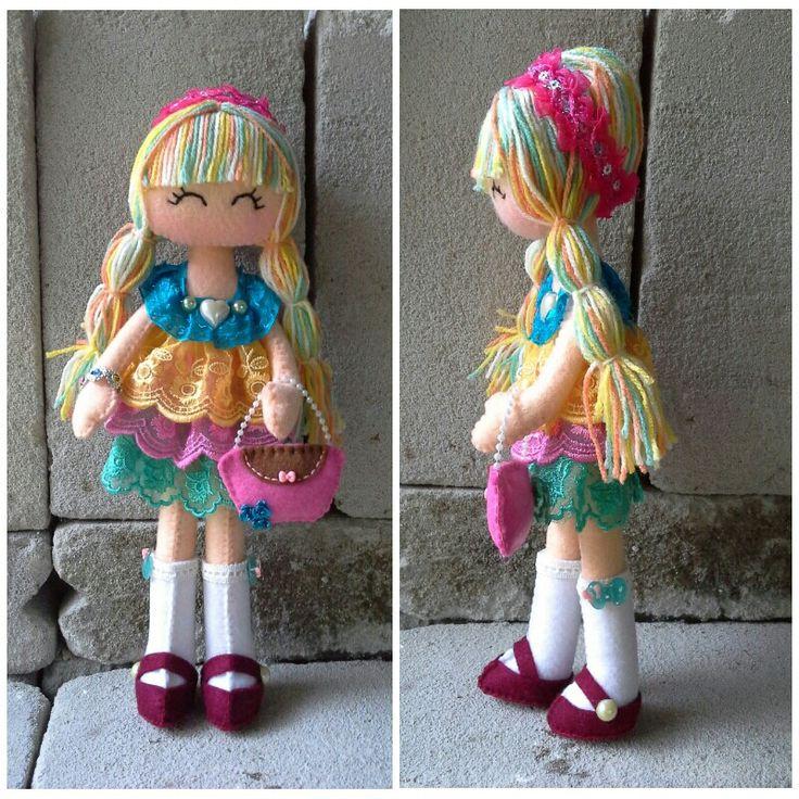 Felt doll 6