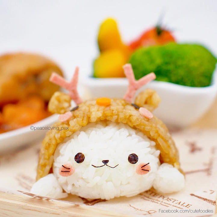 Elle façonne des boules de riz en de petits personnages adorables - page 5