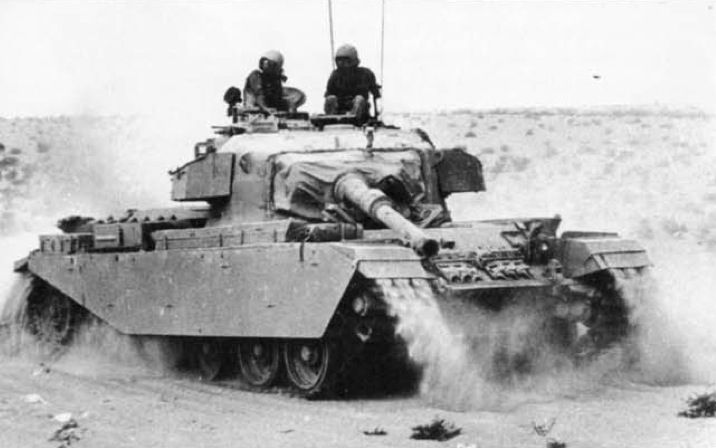 A Sho't (Centurion) tank of the IDF during the Yom Kippur War. (IDF)