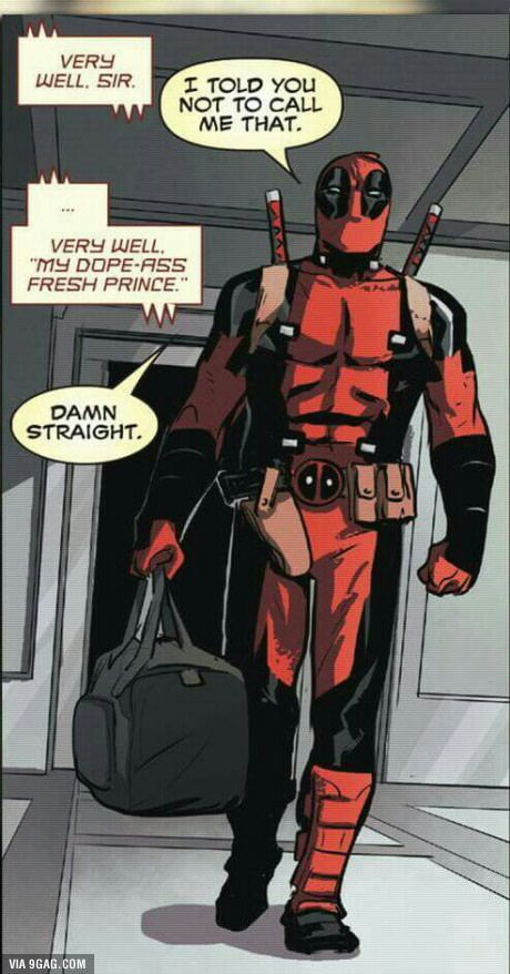 Jarvis talking with Deadpool