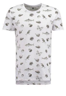 CAINE - Print T-shirt - white