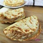 4-Ingredient Coconut Tortillas (Paleo, Low Carb)