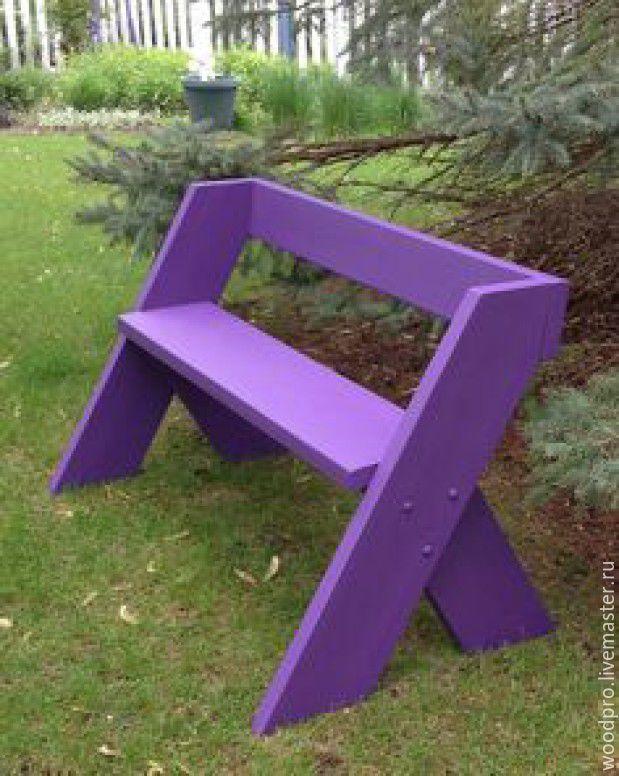 an excellent solution garden bench   ... Купить Скамья Сирень - сиреневый, скамья, скамейка, лавка, лавочка, садовая скамейка, садовая лавка