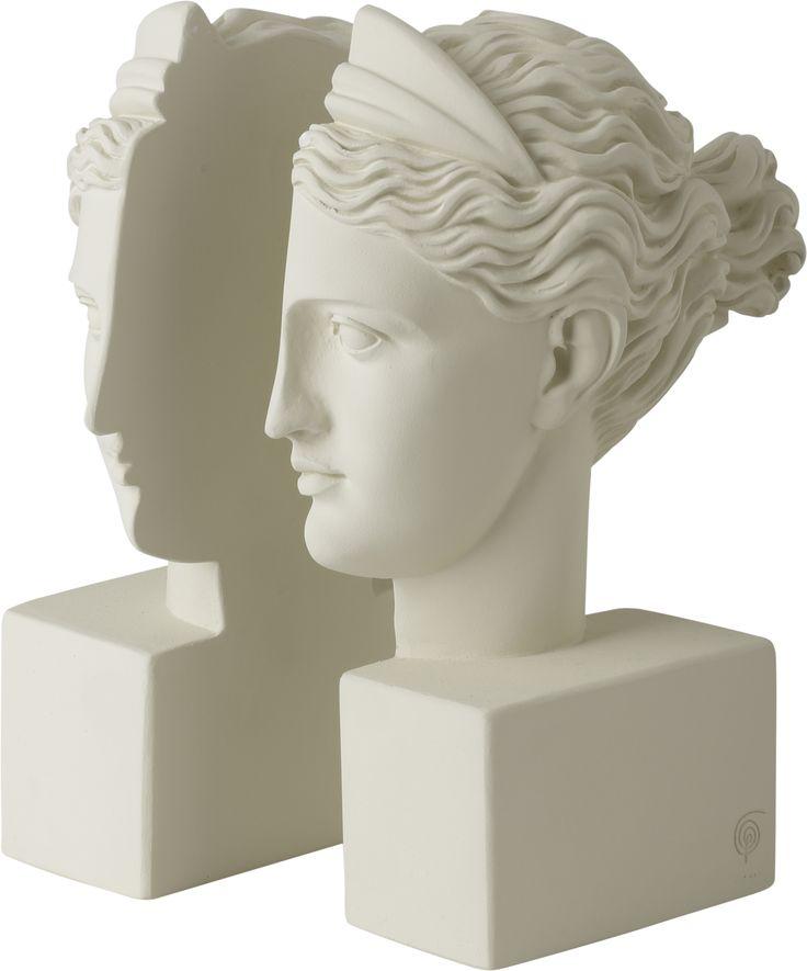 Bookend Artemis Ice White