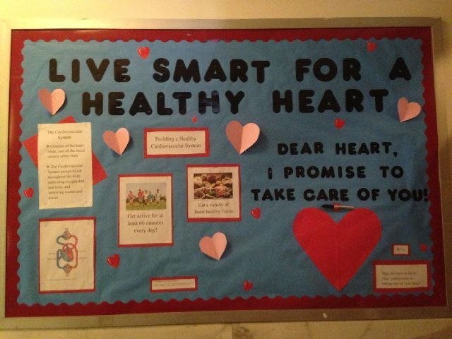 Mental Health Bulletin Board Ideas Live Smart For A