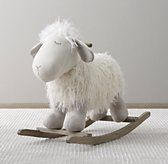 Wooly Plush Rocking Animal - have bought each grandchild the rocking horses from pottery barn, but I may have to get this for the next one! Too stinking cute!