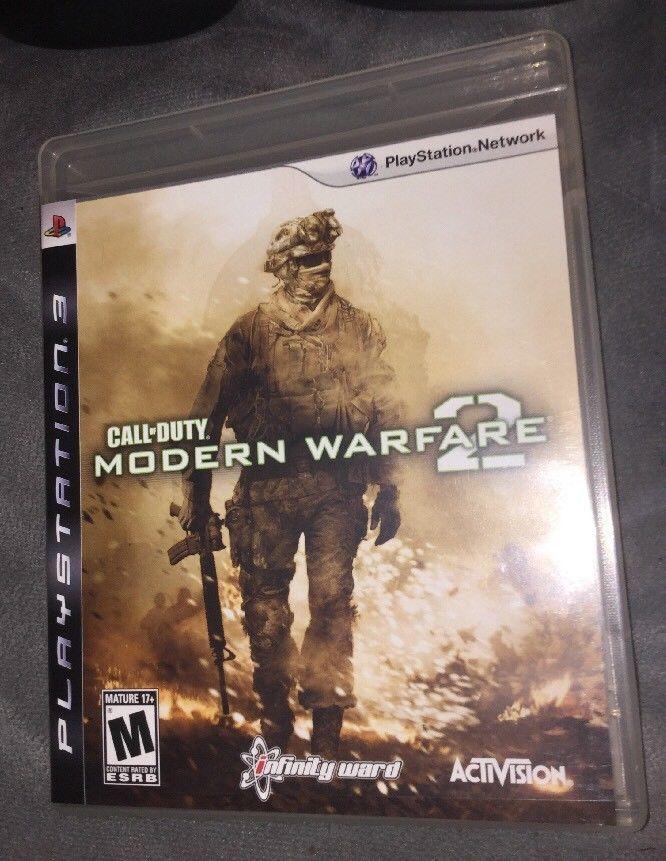 Call Of Duty Modern Warfare 2 Playstation 3 Ps3 Cod Strategy
