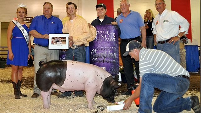 August 15, 2013: Q with John Slayton, State Fair Auction Manager