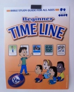 Bible Study Guide for All Ages- Great timeline for young children.