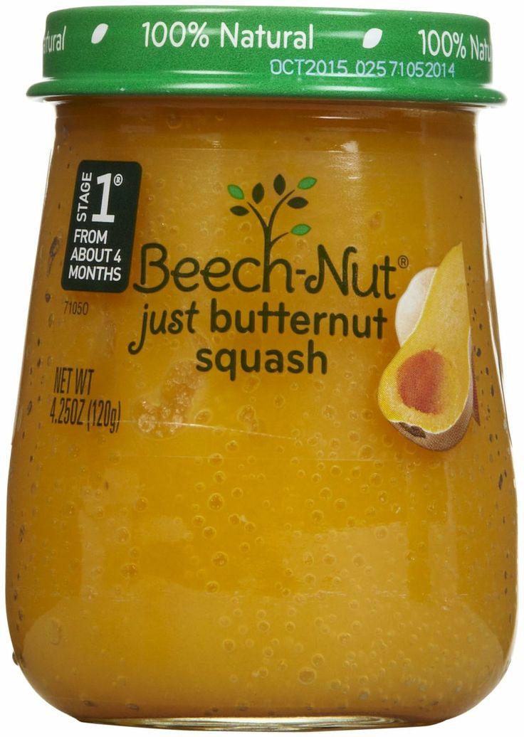 Beechnut stage 1 just purees butternut squash free