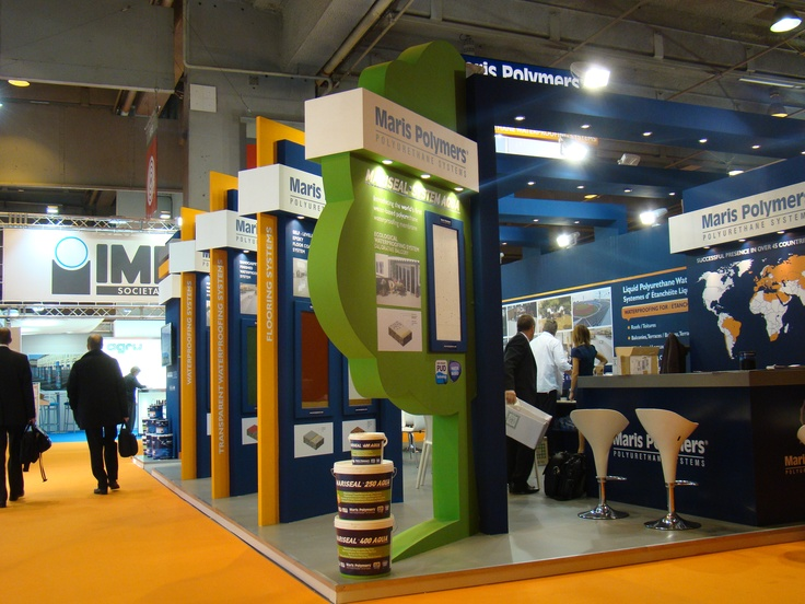 Maris Polymers' Stand Batimat 2011 Expo in Paris