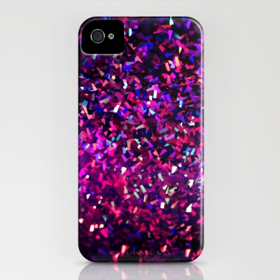 fascination in purple iPhone Case by Sylvia Cook Photography - $35.00