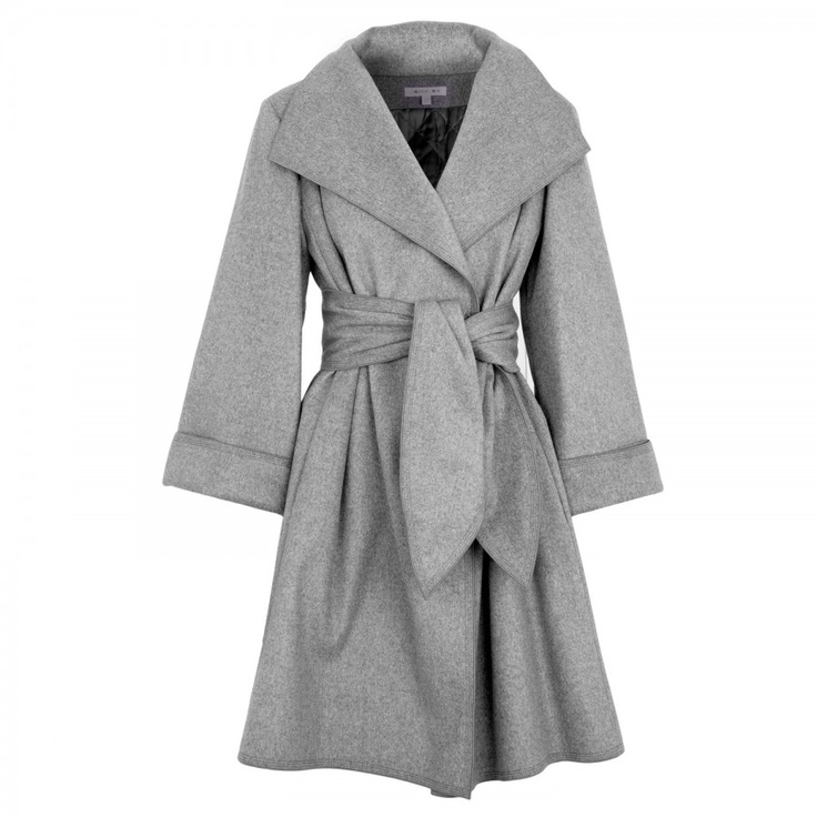 Belted wool blend coat, Harvey Nichols.  One day I will be able to splurge on you.