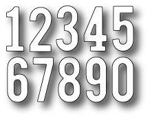 *Simon Says Stamp SIMPLE NUMBERS Craft DIE S153
