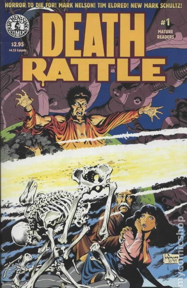 Death Rattle (1995 3rd Series) 1