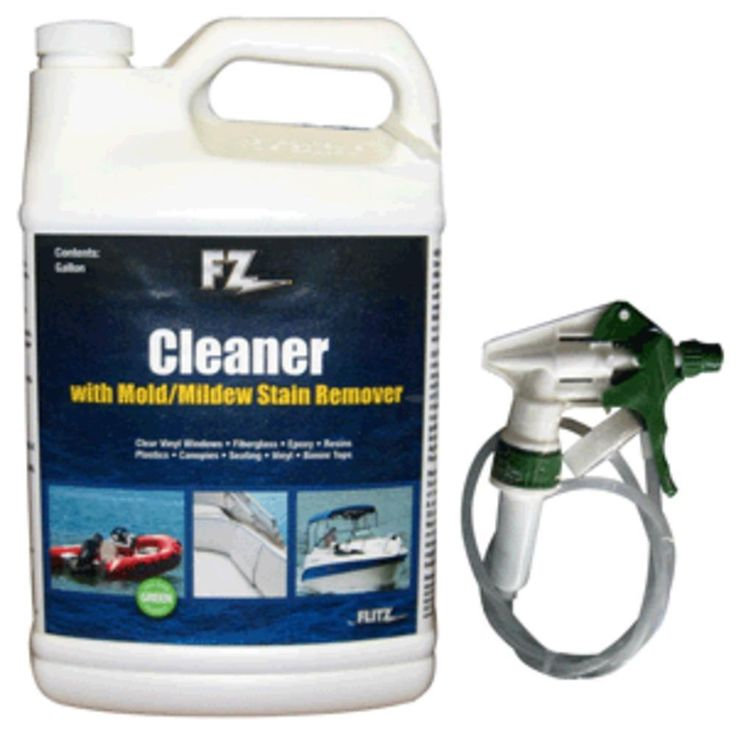 Flitz Marine-RV Cleaner w-Mold & Mildew Stain Remover - 1 Gallon (128oz)Refill