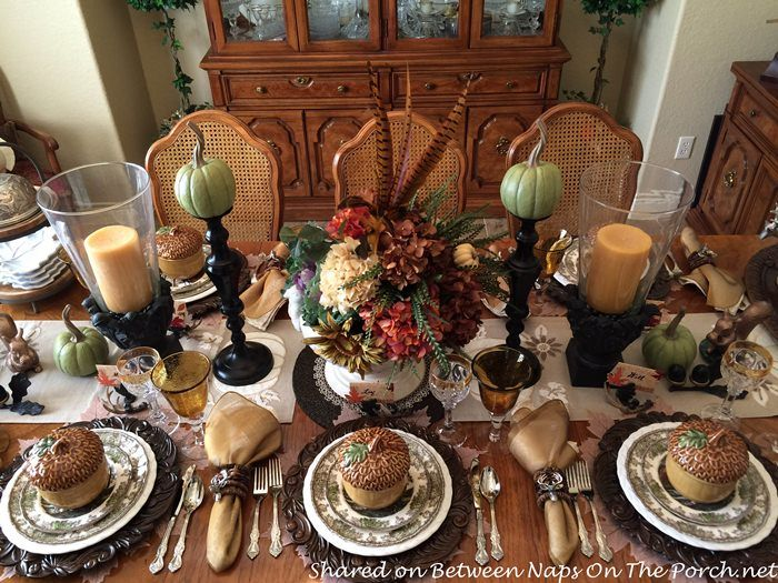 Best fall tablescapes images on pinterest