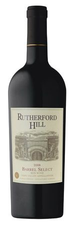 Rutherford Hill Barrel Select 2008. Lovely, really lovely.