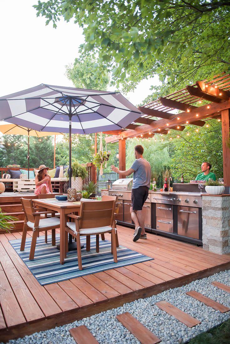 25+ Best Diy Outdoor Kitchen Ideas On Pinterest