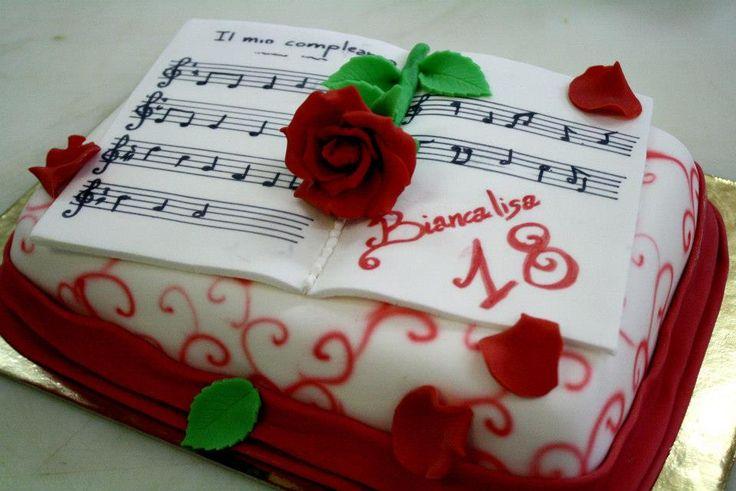 #music #pentagramma della pasticceria La Mimosa di Tollo di http://www.simocakedesigner.it