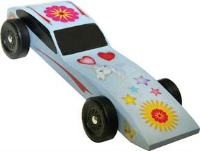 pinewoodderbycardesigns sample of the for girls only decals on a pinewood derby car - Pinewood Derby Car Design Ideas