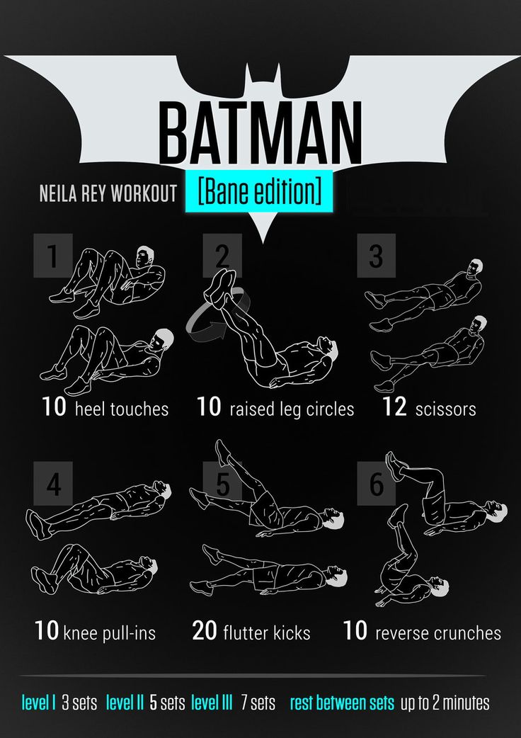 Keep Your Resolve With the #Batman Workout... (Bane Edition)