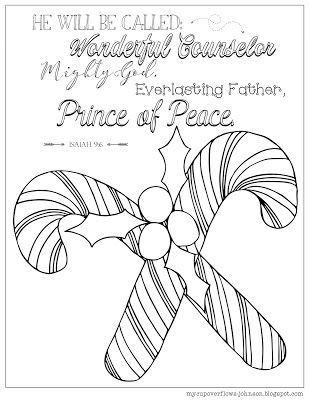 Isaiah 6 Coloring Pages