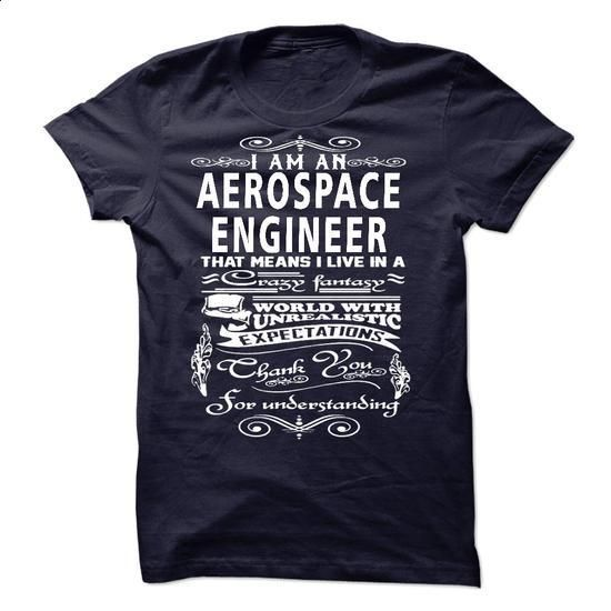 I am an Aerospace Engineer - #hoodies #cool tshirt designs. BUY NOW => https://www.sunfrog.com/LifeStyle/I-am-an-Aerospace-Engineer-18236836-Guys.html?60505
