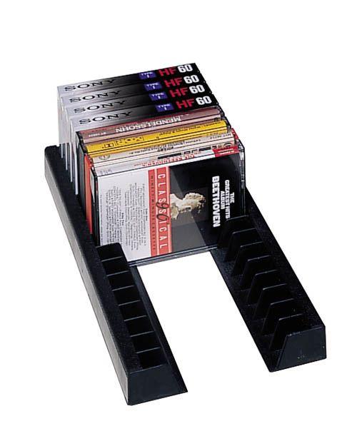Storage Rail DVD Organizer For Drawers