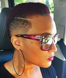 faded haircuts for black women - Google Search