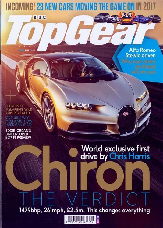 Buy BBC Top Gear Magazine Subscription | Buy at Magazine Café - Single Issue & Subscription Specialist in USA