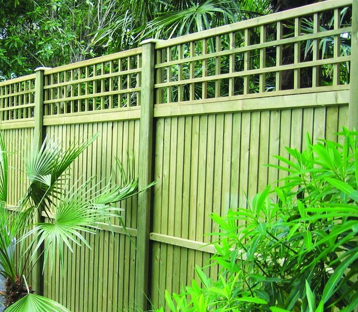 premier trellis topper panel with fencing panels http