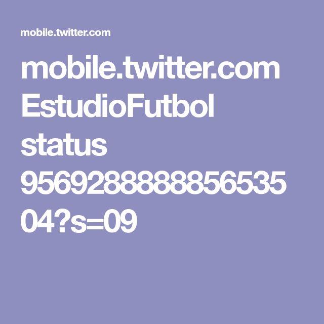 mobile.twitter.com EstudioFutbol status 956928888885653504?s=09