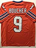 3483ba8eada #10: Unsigned Bobby Boucher SCLSU Mud Dogs Orange Custom Stitched Football  Jersey Size Men's XL New No Brands/Logos