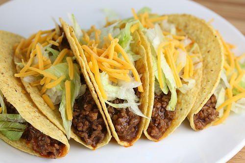 Taco Bell Copycat Tacos   AllFreeCopycatRecipes.com
