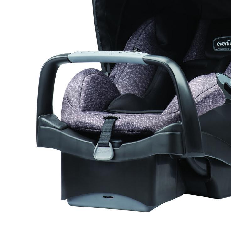 Evenflo Pivot Modular Travel System w/SafeMax, Sandstone