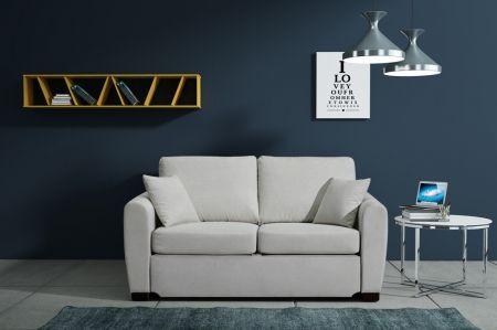 Sofa Sandy od  Selsey.pl , idealna tam gdzie liczy się każdy centymetr. #selseypolska #sofa #salon #kanapa