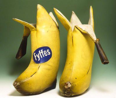"""Ooops, slipped on a banana peel!"""